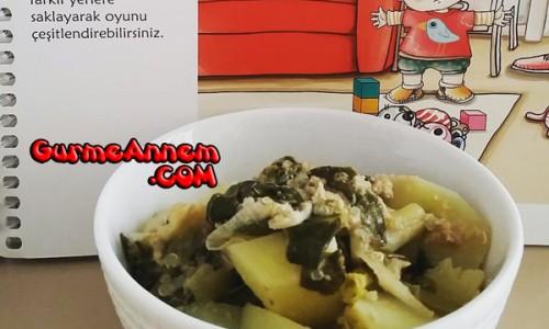 Ispanaklı Patates Yemeği ( 1 yaş ve üzeri )