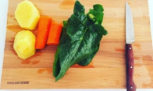 Sebze çorbası ( 8 ay ve üzeri )