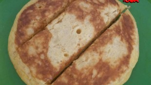 Sade omlet ( 8 ay ve üzeri )