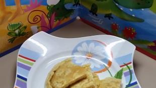 Sütlü Omlet ( 1 yaş ve üzeri )