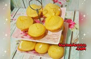 Mısır unlu muffin ( 1 yaş ve üzeri )
