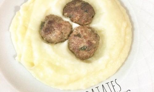 Patates yatağında misket kötfe ( 1 yaş ve üzeri )