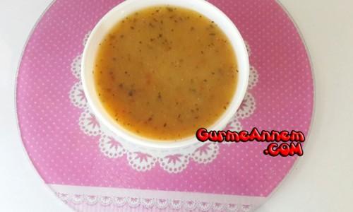 Sebzeli Mercimek Çorbası (1 yaş ve üzeri )