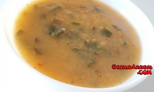 Kıymalı Semizotlu  Tarhana çorbası ( 8 ay ve üzeri )