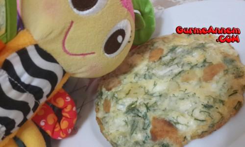 Peynirli dereotlu omlet ( 8 ay ve üzeri )