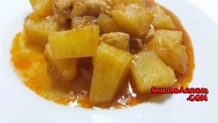 Tavuklu Patates Yemeği ( 8 ay ve üzeri )