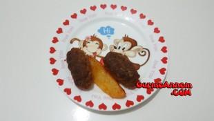 Bebeklere Fırında Patatesli Köfte ( 1 yaş ve üzeri )