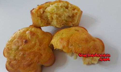 Kabaklı Havuçlu Muffin ( 1 yaş ve üzeri )