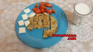 Miniklere Besleyici Omlet ( 1 yaş ve üzeri )