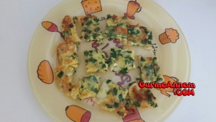 Sebzeli Omlet ( 1 yaş ve üzeri )