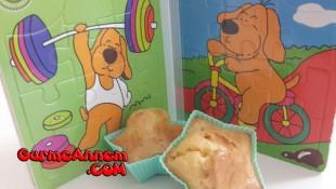 Peynirli Muffin ( 1 yaş ve üzeri )