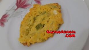 Kabaklı Omlet ( 7 ay ve üzeri )