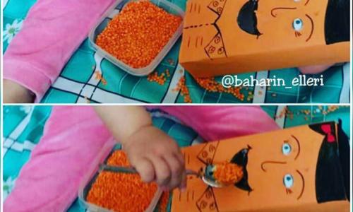 Kutu  bebeği  besleme ( 1 yaş ve üzeri )