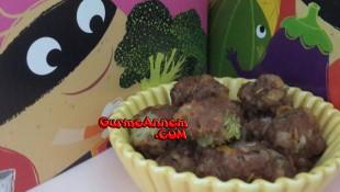 Brokolili Köfte ( 8 ay ve üzeri )