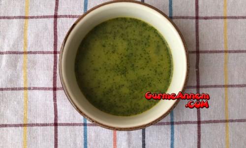 Et suyunda brokoli çorbası ( 8 ay ve üzeri )