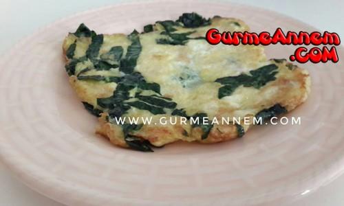 Ispanaklı Peynirli Omlet ( 1 yaş ve üzeri )