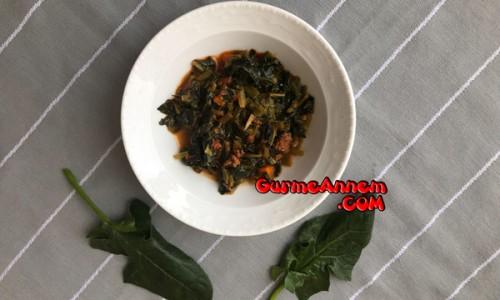 Kıymalı Ispanak Yemeği ( 1 yaş ve üzeri )