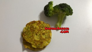 Brokolili Mücver ( 8 ay ve üzeri )