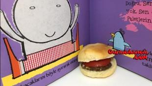 Ev yapımı Hamburger ( 1 yaş ve üzeri )