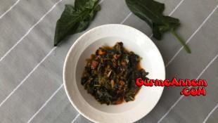 Kıymalı ıspanak yemeği ( 9 ay ve üzeri )