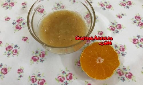 Meyveli Fındıklı Püre ( 1 yaş ve üzeri )