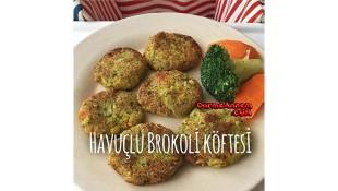 Havuçlu Brokoli Köftesi (9 ay+)