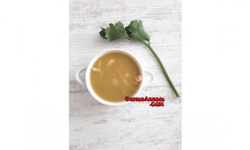 Kerevizli Sebze Çorbası ( 7 ay ve üzeri )