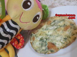 - peynirli dereotlu omlet 8ayveuzeri 300x225 - Peynirli dereotlu omlet ( 8 ay ve üzeri )